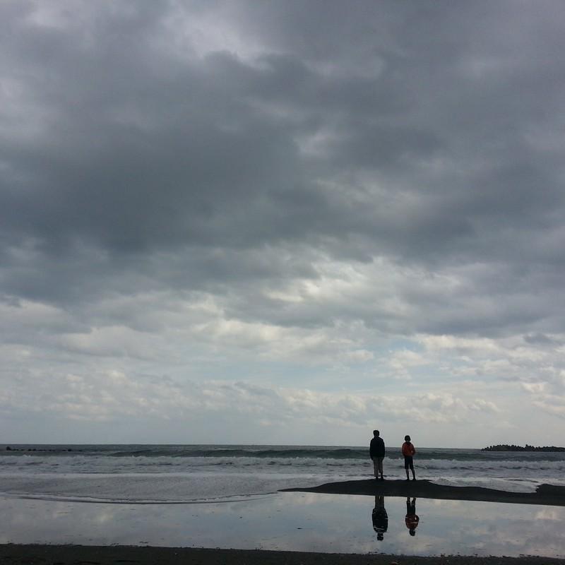 海と少年たち