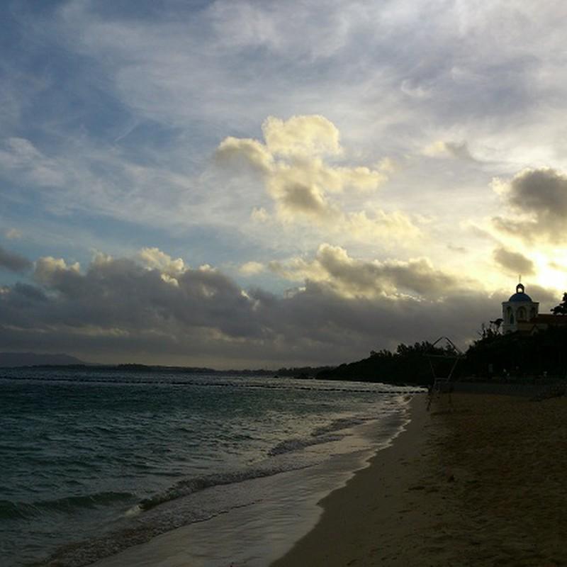 早朝の海②