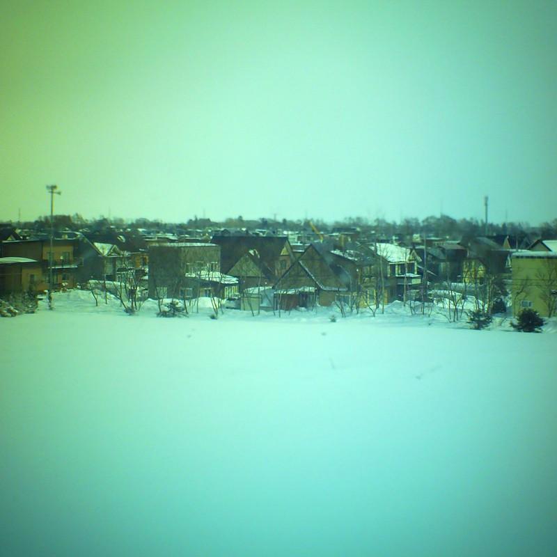 学校からの風景