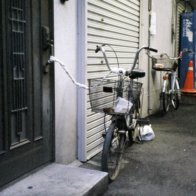 飼い自転車