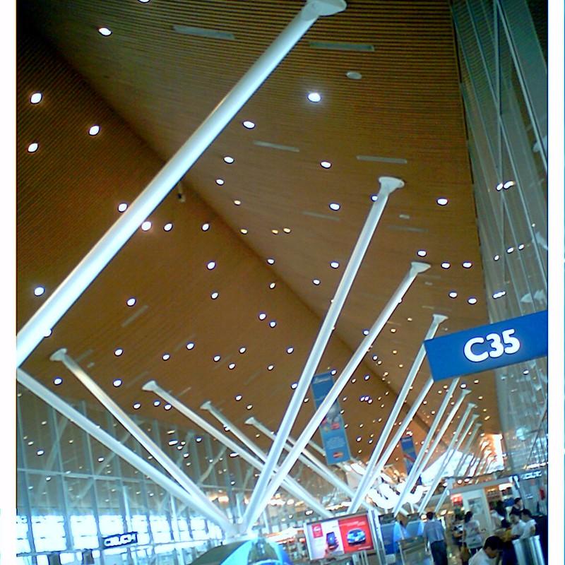 吉隆坡機場等待回國囉…