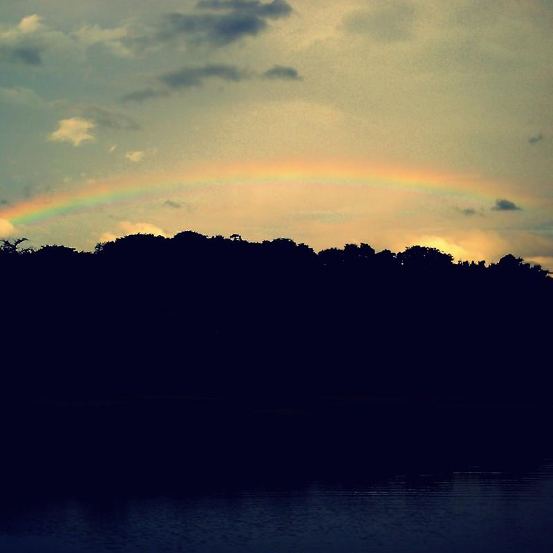 虹を見たかい