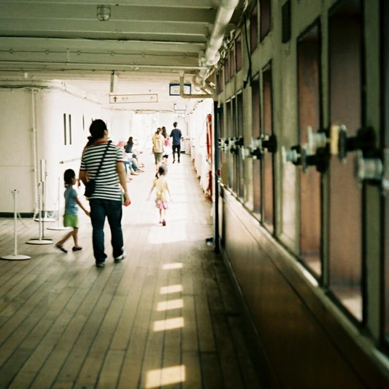 いつか船旅してみたい。