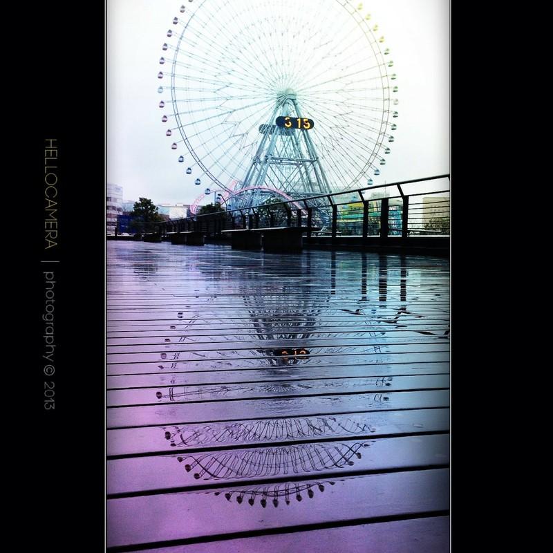 横浜にて…