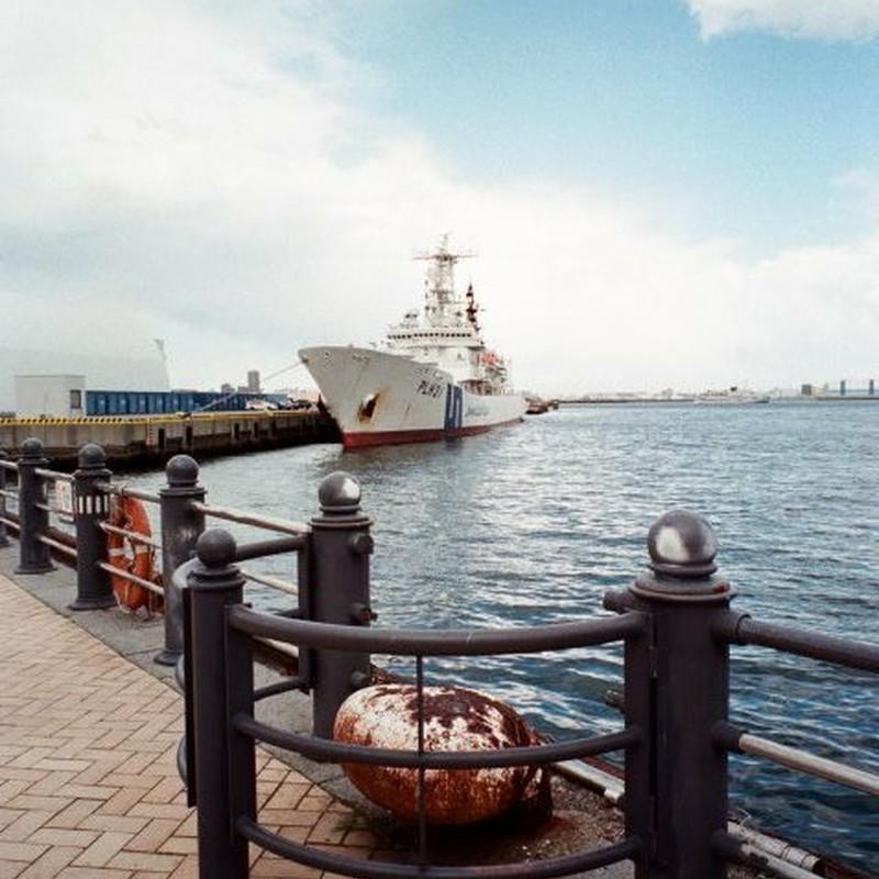 海と船と雲と