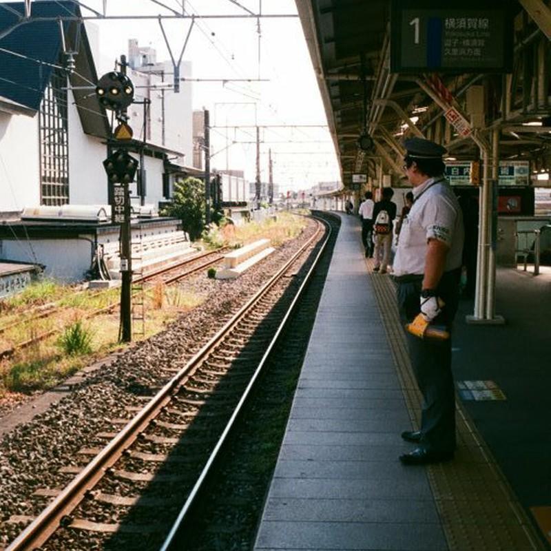 鎌倉駅にて