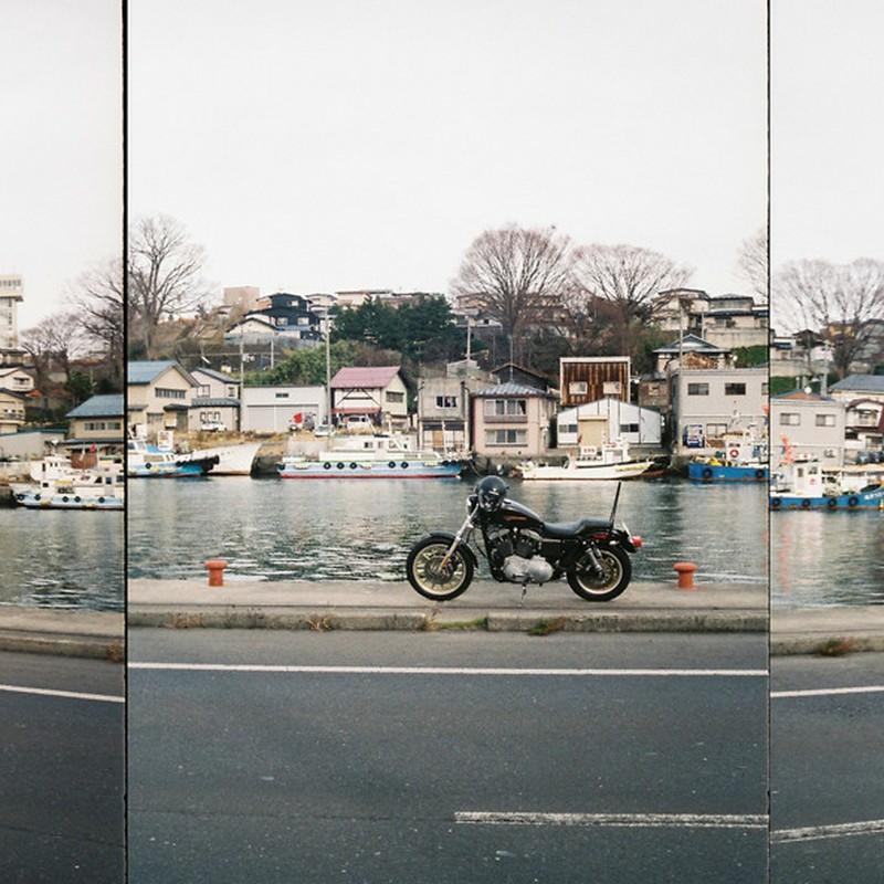 彼のオートバイ、彼女の・・・。