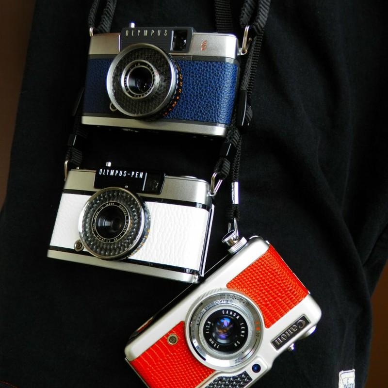 ハーフカメラで・・・。