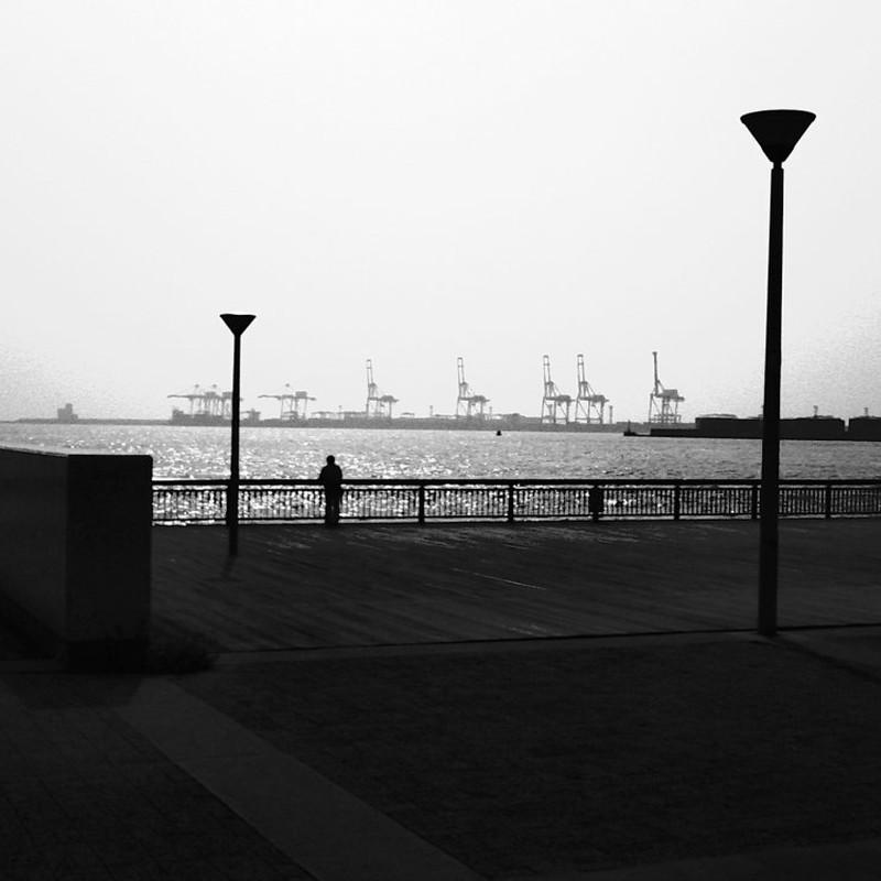 大阪の海。