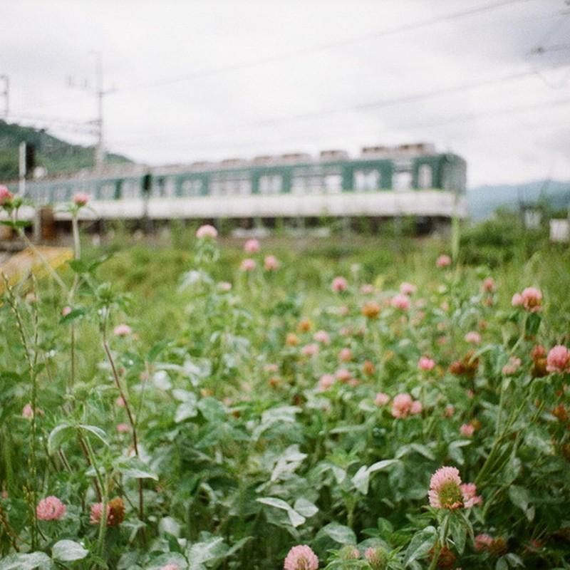 京阪電車。