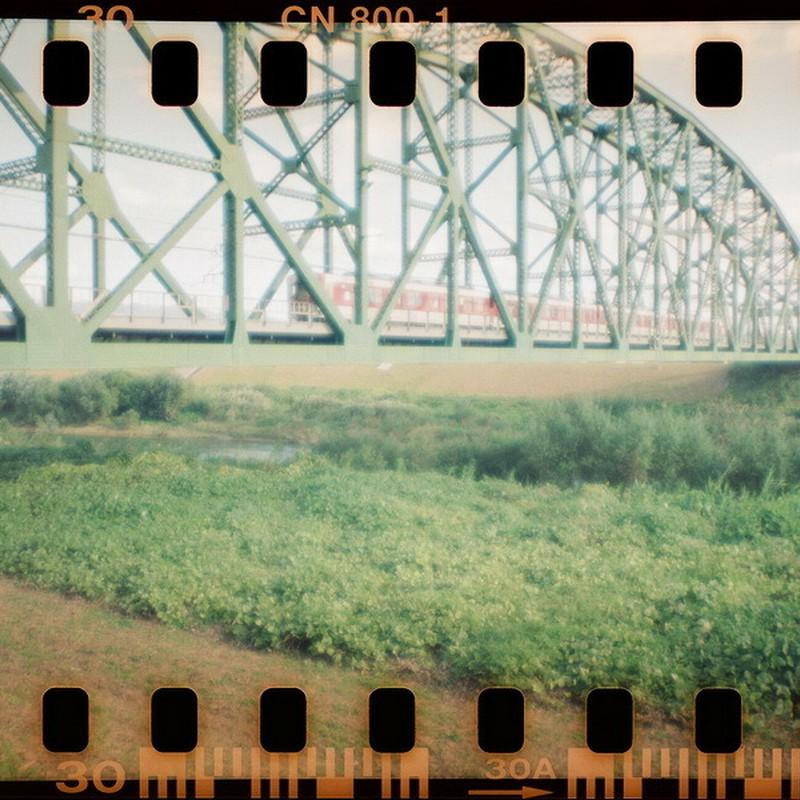 Re:鉄橋のある風景。