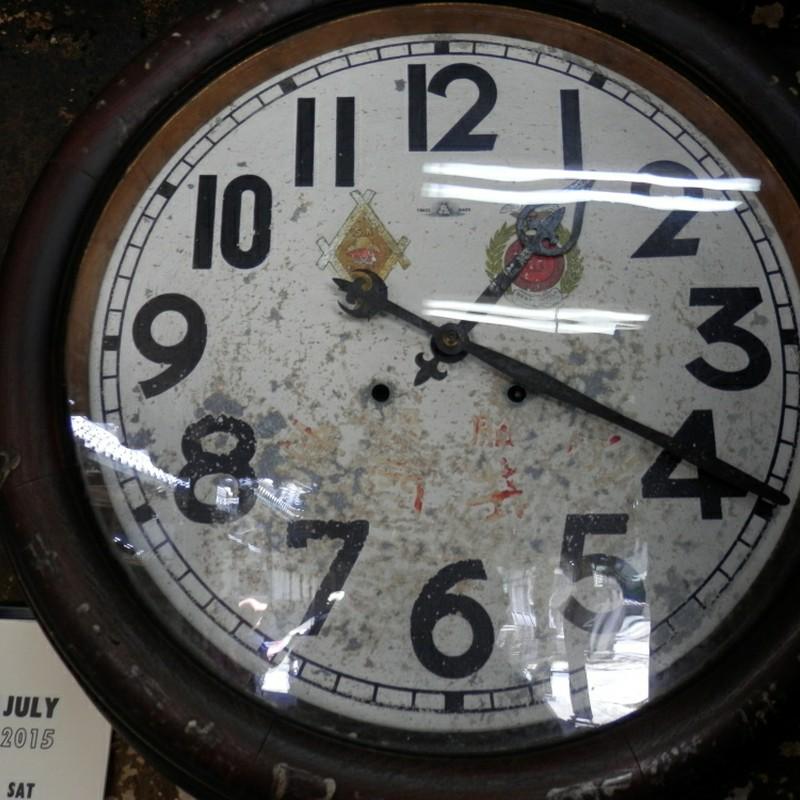 気になる時計。