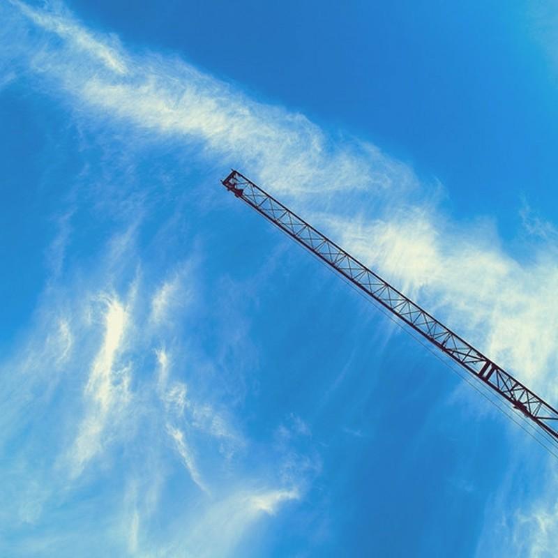 青空を見上げても。