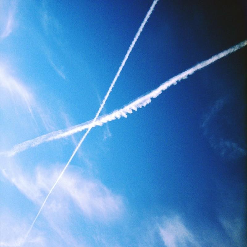 青空交差点。