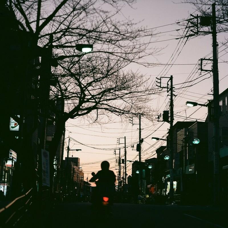日暮れの音