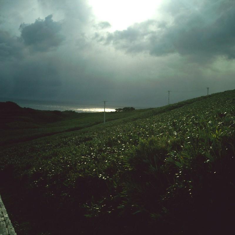 雨雲の切れ間