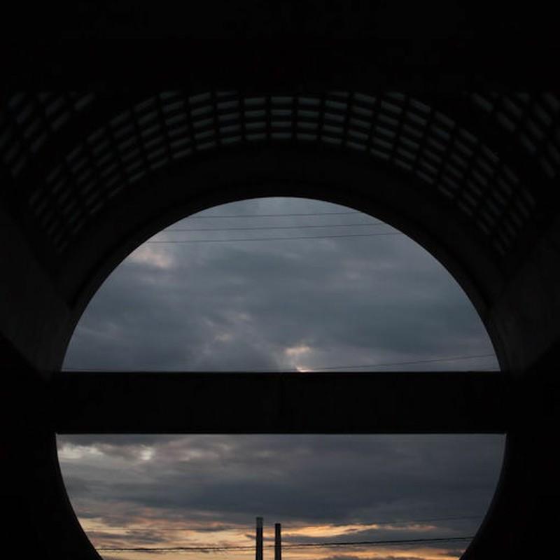 古都の夕空
