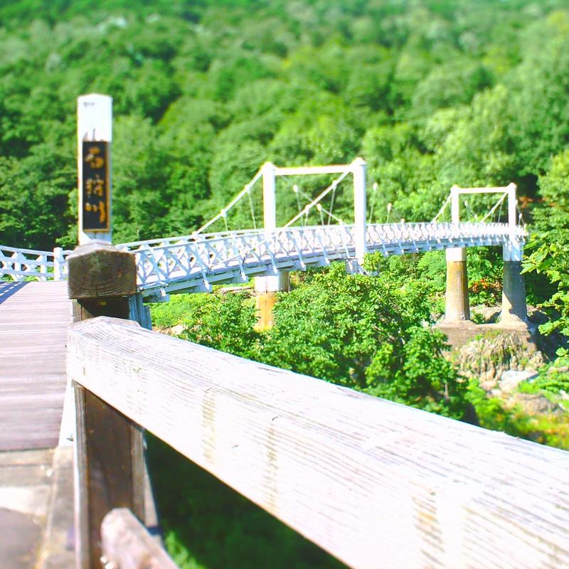 ミニチュアつり橋