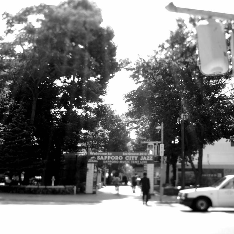 夏の大通り公園