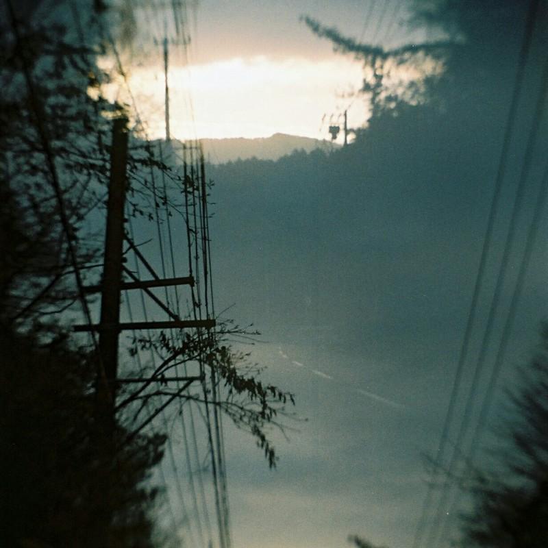 電線のある景色