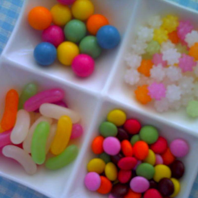 お菓子4種