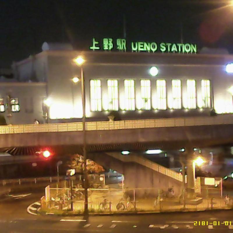 2015/10/28_夜の上野駅