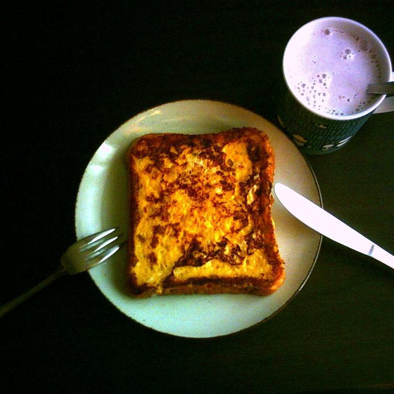 たまにはフレンチな朝ご飯
