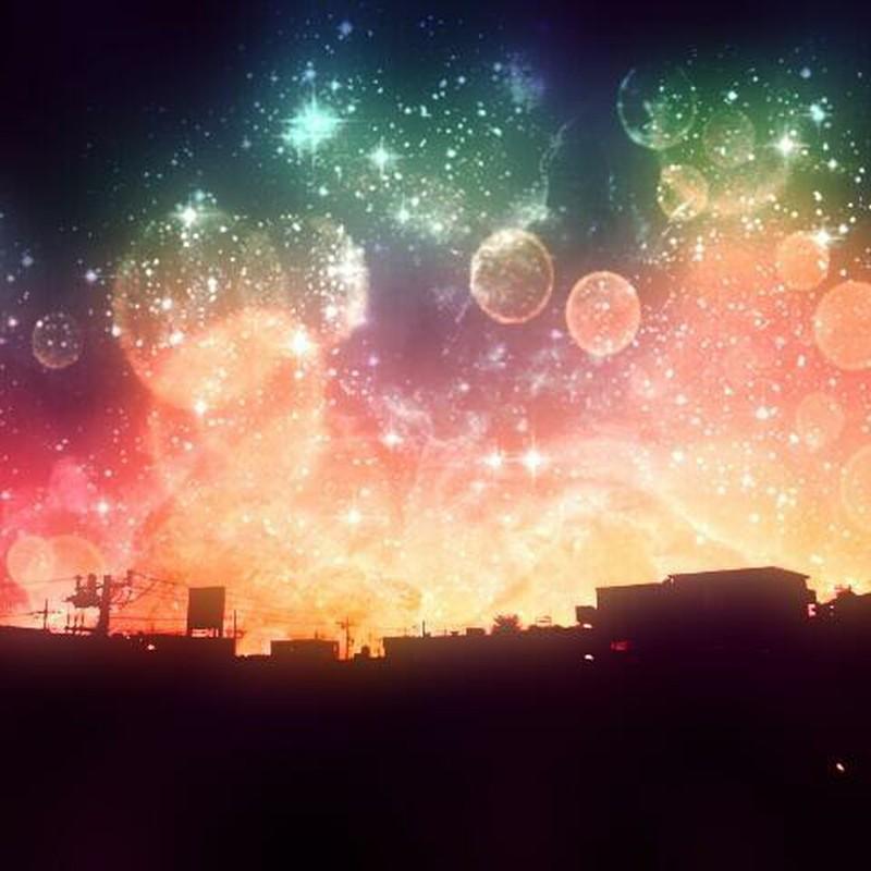 夜空に花火