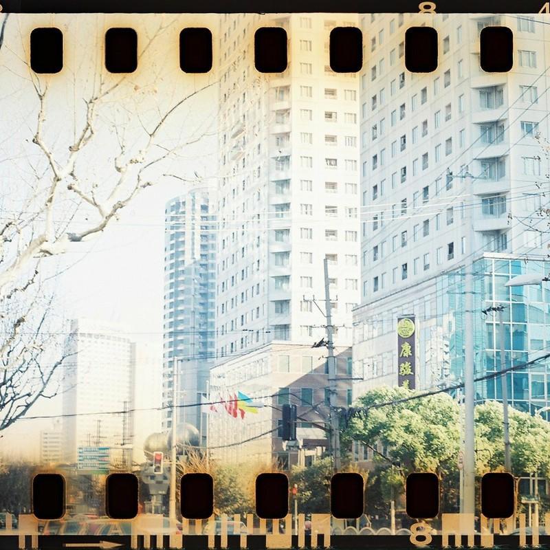 上海の街並