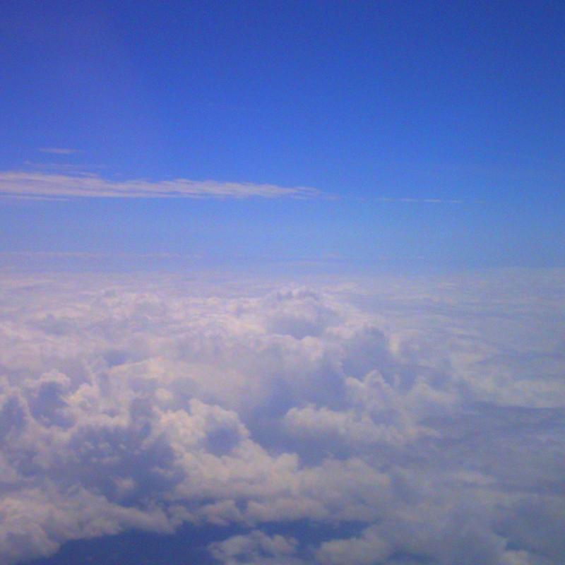雲をあるく