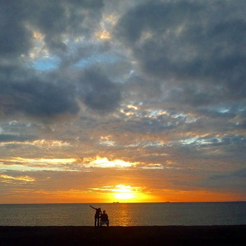 夕陽の二人 其の二
