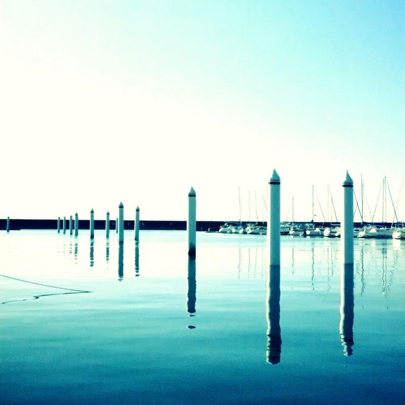 朝のヨットハーバー 2