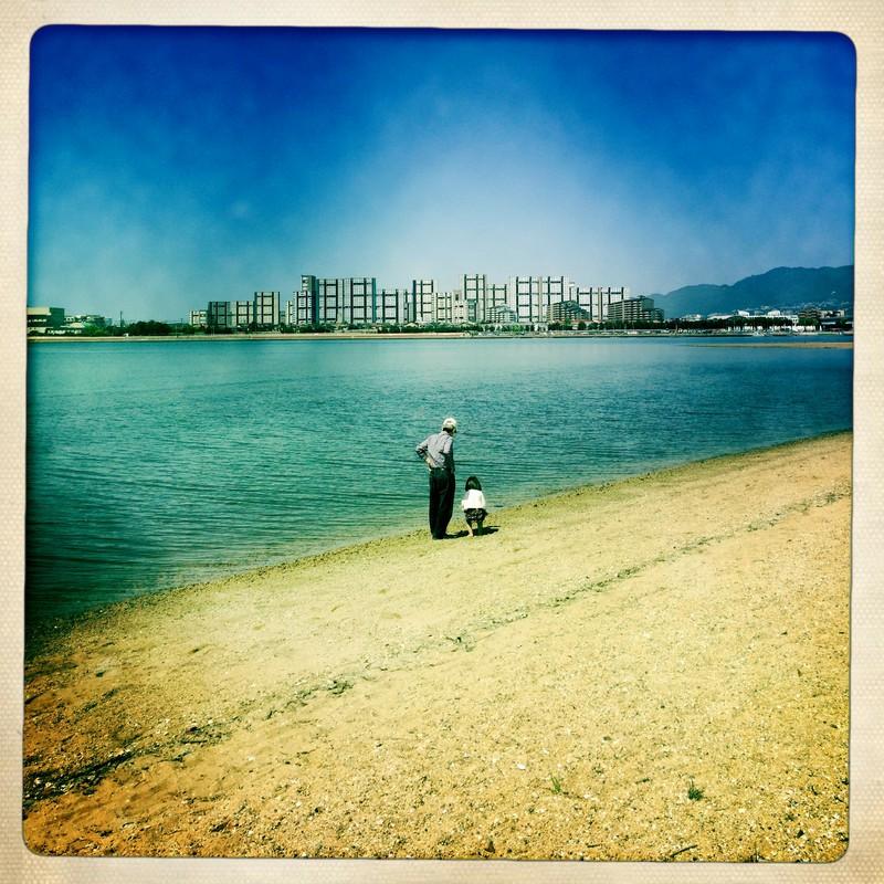 水辺の休日