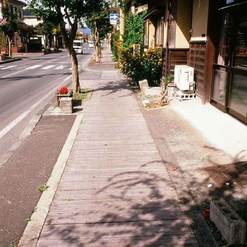 優しい歩道