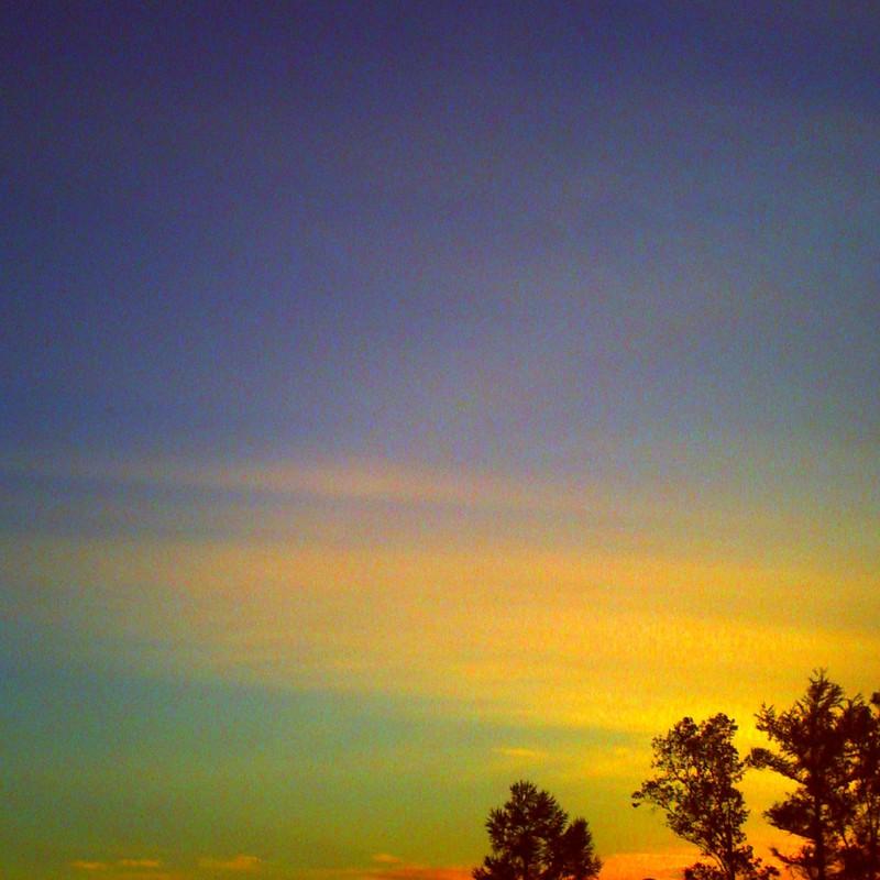 色色々夕空