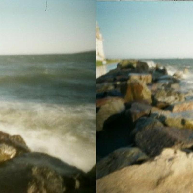 若洲海浜公園 波