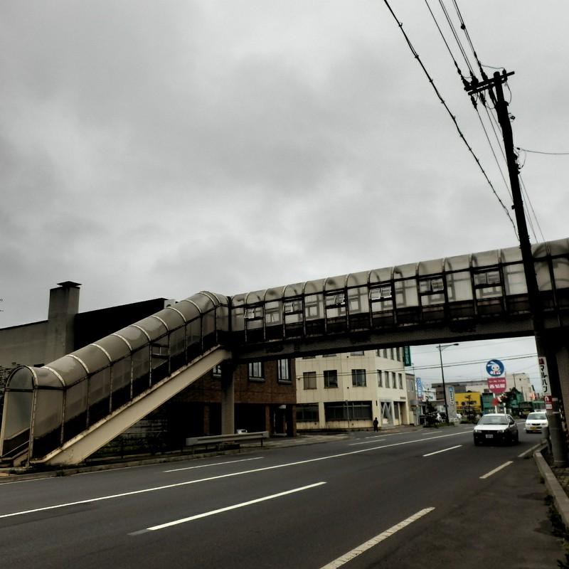 北の歩道橋
