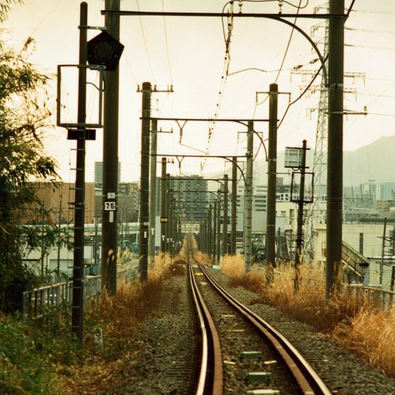 街中の引き込み線