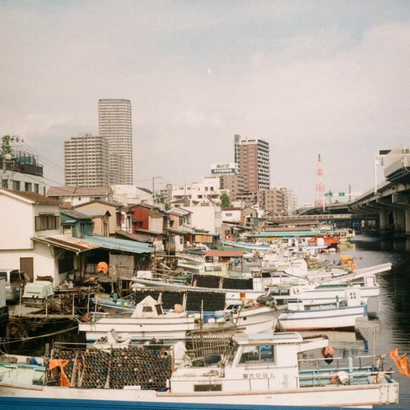 運河の風景(ここも横浜)