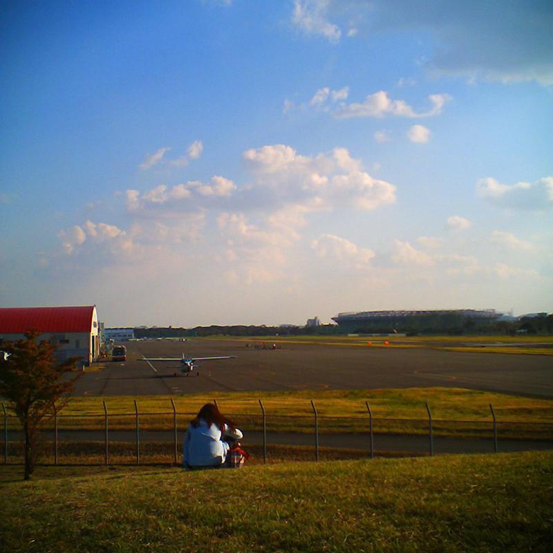 翼を眺めてた午後