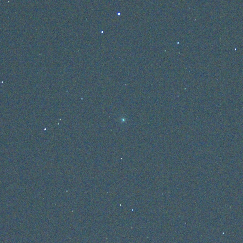 星空を眺めた日(彗星)