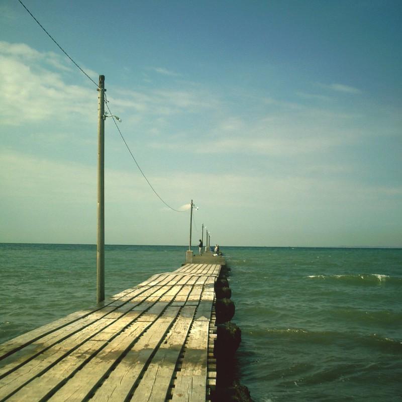 桟橋の風景