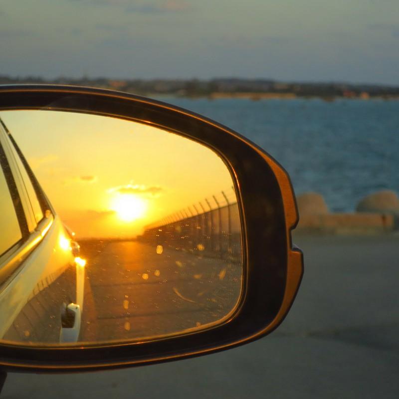 夕日をみていたのは夢の世界だったのかもしれない