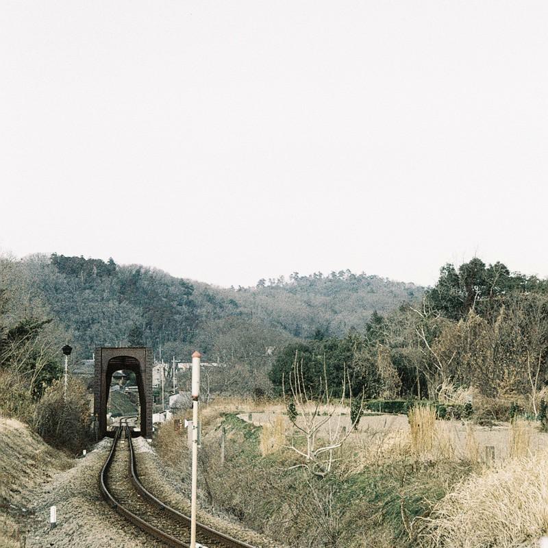 単線と鉄橋とカーブ